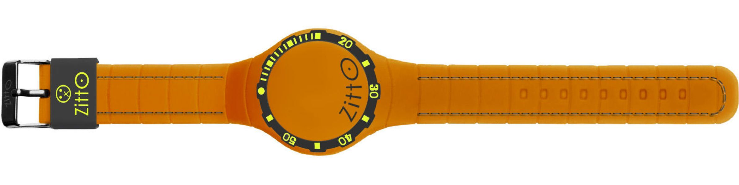 OROLOGIO-36MM-MINI-ARANCIO-SOFT-TOUCH-ZITTO